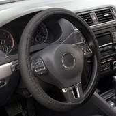 Оплетка, чехол на руль автомобиля (на резинке)