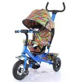 Велосипед трехколесный Tilly Trike с надувными колесами, 3 вида