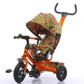 Велосипед трехколесный Tilly Trike с надувными колесами, 2 вида