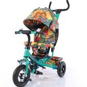 Велосипед трехколесный Tilly Trike с надувными колесами