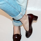 Туфли 40,5 р Sempler Германия кожа полная оригинал