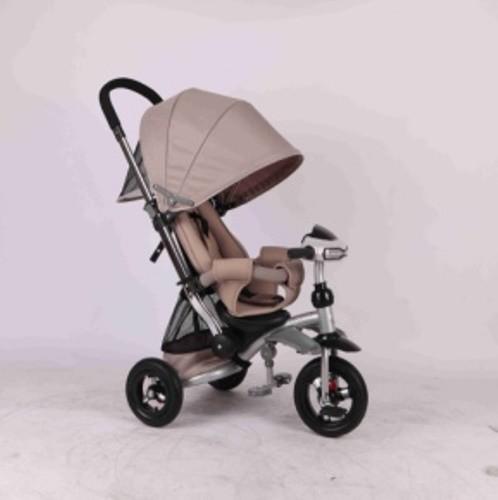 Трехколесный велосипед - коляска azimut crosser t-350. раскладная спинка. фото №6