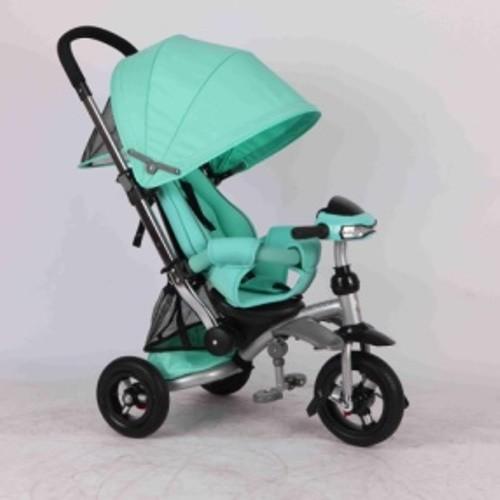 Трехколесный велосипед - коляска azimut crosser t-350. раскладная спинка. фото №4
