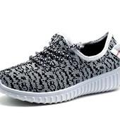 Кроссовки в стиле Adidas Yeezy Boost, р. 31,32,33,34, детские, код kv-2308