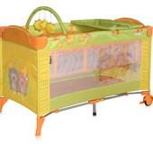 Манеж 2  уровня + пеленальный столик/дуга с игрушками Bertoni Arena 2 Layers (multicolor)