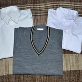 Джемпер+ подарок 2 рубашки.