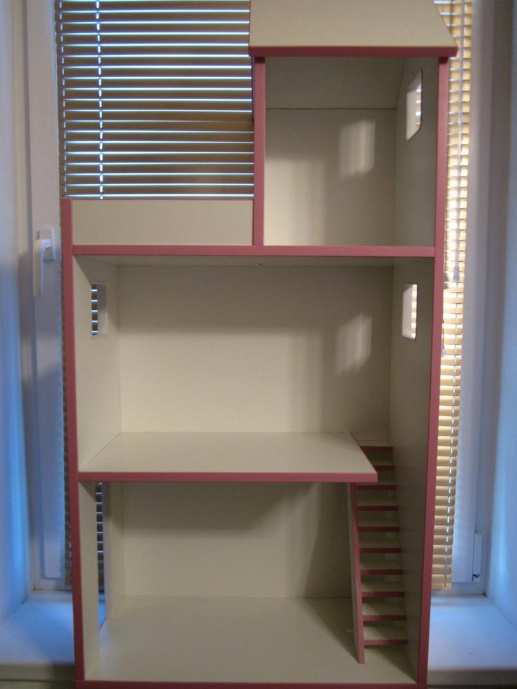 Домик для барби с лестницей фото №1