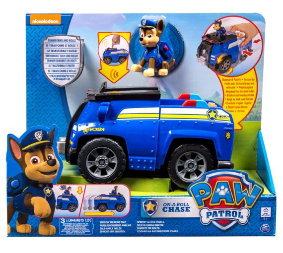 «щенячий патруль»: спасательный автомобиль-трансформер с фигуркой гонщика фото №1
