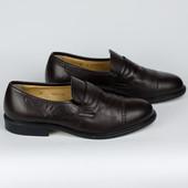 Кожаные туфли лоферы Sir 42р.