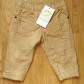 Теплые штаны 9-12 месяцев Vertbaudet
