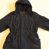 Зимняя куртка, жилетка 2в1 фирмы Sanetta p. 140