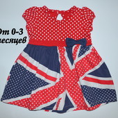 Платье George (0-3 мес.)