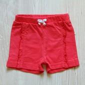Яркие трикотажные шортики для девочки. Размер 3 месяца, будут дольше. Состояние: идеальное