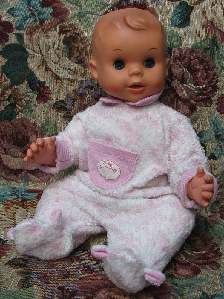 Кукла пупс чехословакия hamiro 50 см фото №1