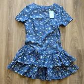Платье -Gepur- 44 размер, новое, двухярусное. Замеры: Пог-46 см, Пот-39 см, 50 см, длина 88 см