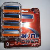 Лезвия Fusion Power.Продажа поштучно.Много отзывов. укр.почта 11грн