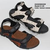 Цена снижена!Кожаные мужские сандалии, лето 2016, 2 цвета
