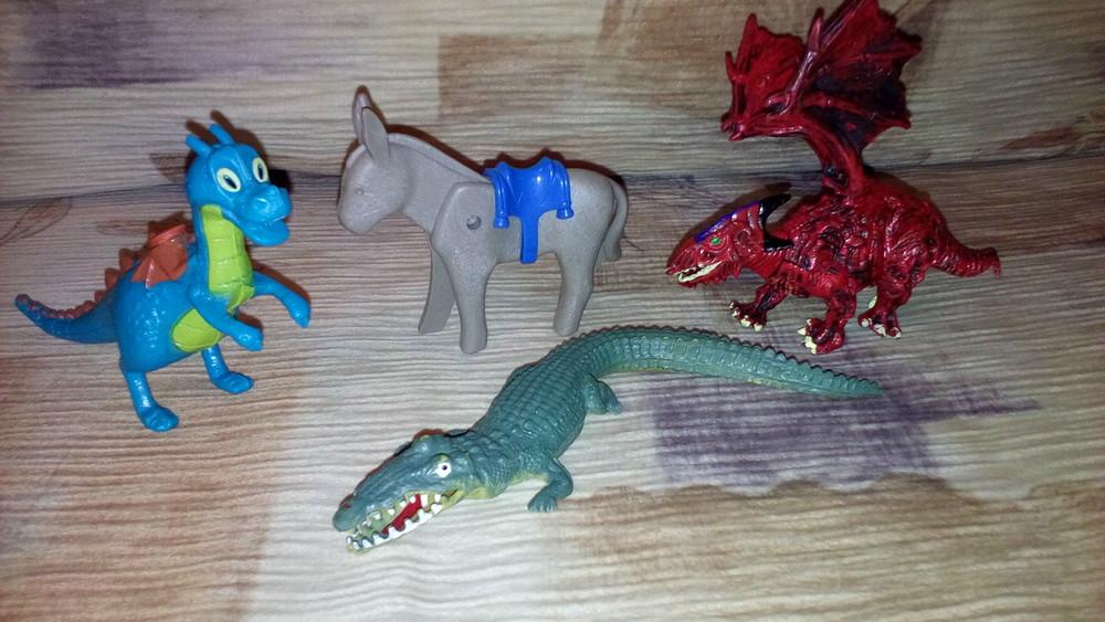 Дракон динозавр осел playmobil фото №1