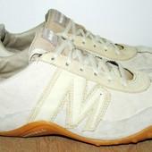 фирменые кожаные кроссовки 25.5 см