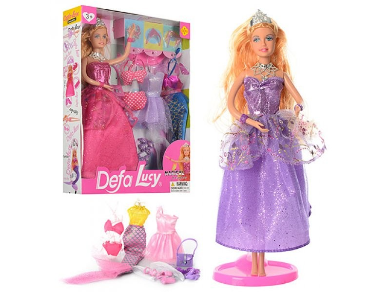 Кукла с нарядом defa 8269 фото №1