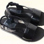 Мужские сандалии натуральная кожа питон р. 40-45