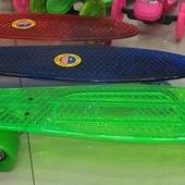 Скейт BT-YSB-0010 пластик  колеса 58мм