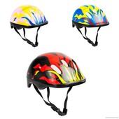 Детский защитный шлем код 120 для велосипедов роликов самокатов беговелов