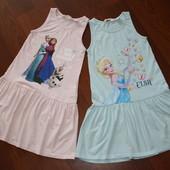 4-6 лет H&M Frozen - платье,сарафан Анна и Эльза. Идеальное состояние