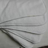 Вкладышы бамбук 4 слоя в многоразовые подгузники/Вкладки Бамбук 4 шари
