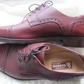 Кожаные винтажные туфли Сalzaturificio Varese Италия (42)