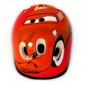 Защитный шлем Тачки С3 детский для велосипедов роликов самокатов беговелов