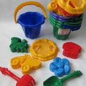 Детский песочный набор Ромашка