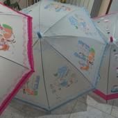 Детский зонт-трость. Матовые большой выбор