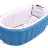 Новая надувная ванночка для купания малыша