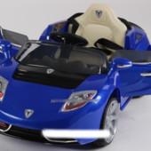 Детский электромобиль T-761 Sports, синий