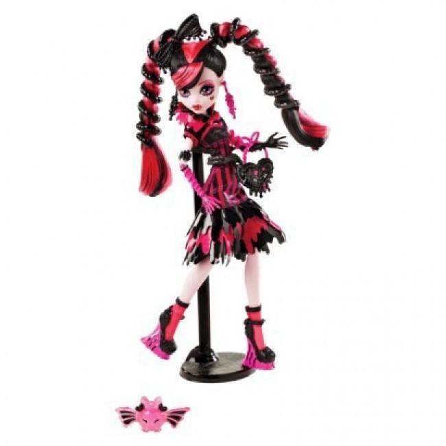 Mattel кукла дракулора из серии сладкие крики фото №1