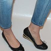 Туфли 39 р., Janet D., Германия кожа полная оригинал