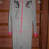 Пижама хлопковая, женская, размер М, рост до 165 см