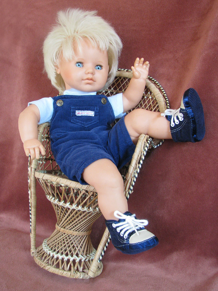 Кукла германия гдр gustav liebermann ela редкая 52 фото №1