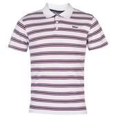 Футболка-поло мужская Lee Cooper Stripe Polo Shirt