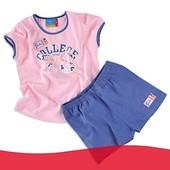 (M-058) Комплект : шортики + футболка Topolino р.68