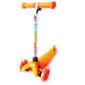 Самокат Айтрайк Мини с 1,5 до 5 лет трехколесный детский iTrike mini BB 3-013 с светящимися колесами