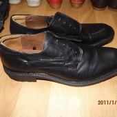 фирменные кожаные туфли 43 р Wild Foot classic