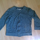 Кофта, кофточка, свитер на пуговички 4-5 лет