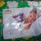 Детское одеяло с подушкой на синтепоне