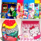 Сумка/рюкзак для мальчиков и девочек,для одежды,сменной обуви,игрушек.