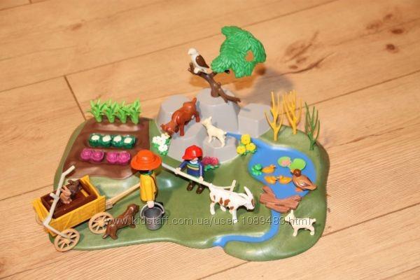 Playmobil 3124 - фермерский огород. раритетный набор фото №1