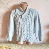 Теплый стильный свитер  H&M для мальчика 4-6 лет (110 -116 см.)
