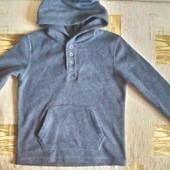 George Теплая флисовая пайта, кофта для мальчика 6 - 7 лет ( 116 -122)