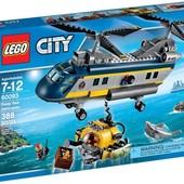 Lego City 60093 Вертолёт глубоководных исследователей. В наличии